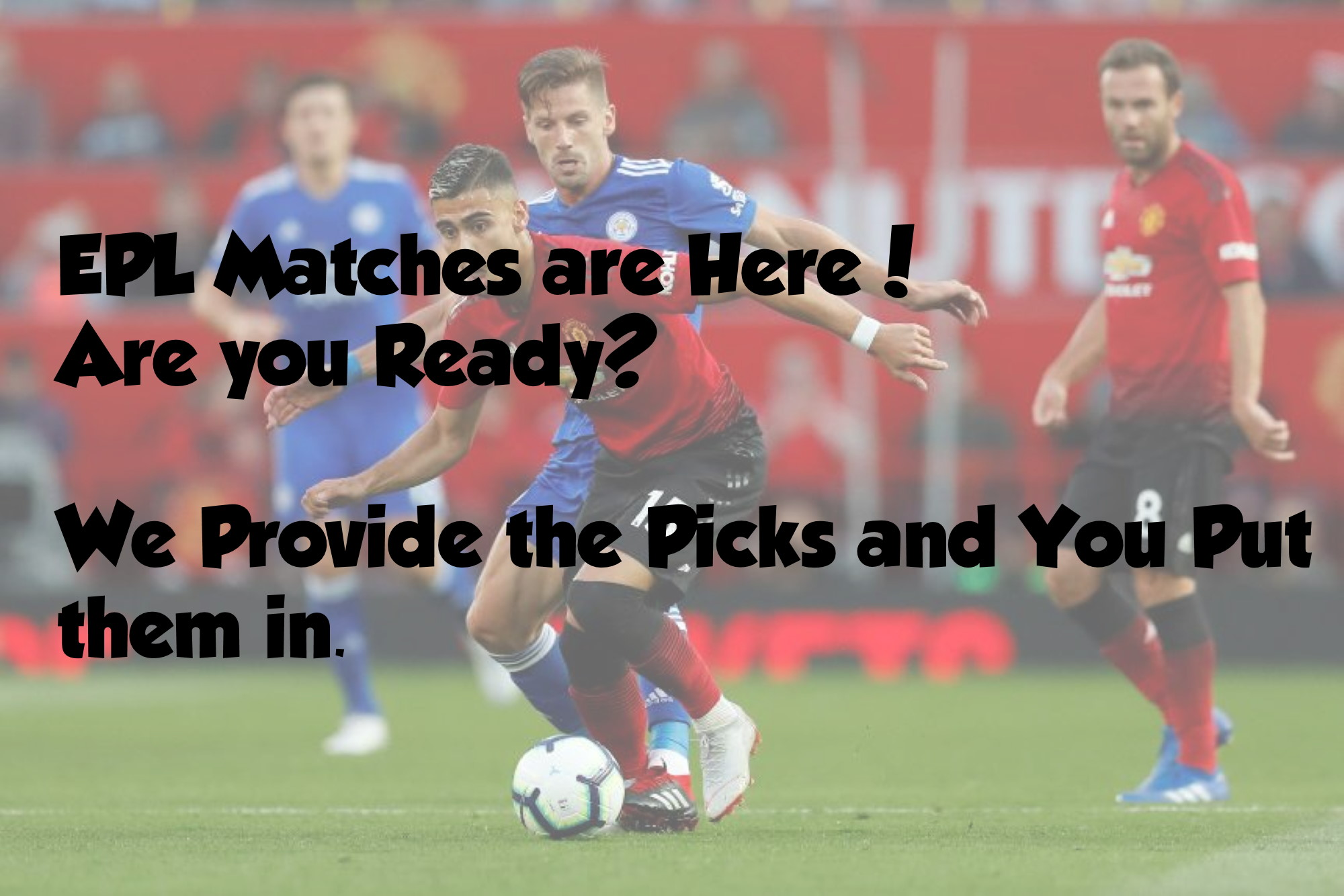 MatchDay 18 and We Have the Picks